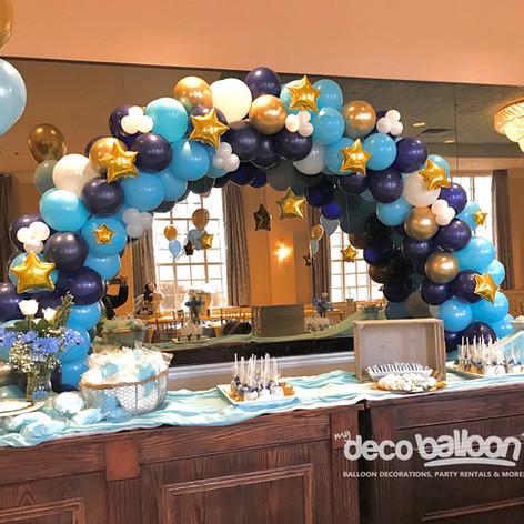 Mix Color Balloon Arch