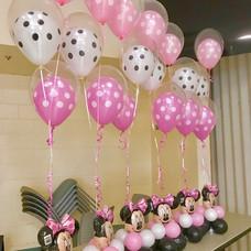 Minnie Balloon Centerpiece