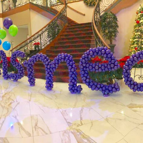 Insmed Balloon Letter Sculpture