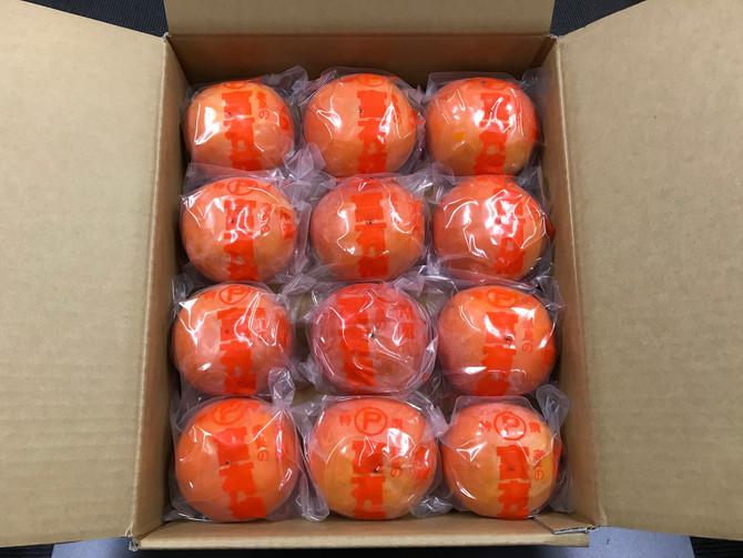東海フレンズ様からたくさんの柿をいただいました。