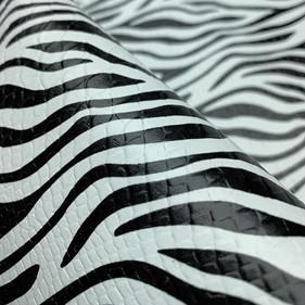 Snake Zebra Estilizada