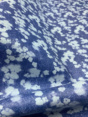 Jeans Denim Floral