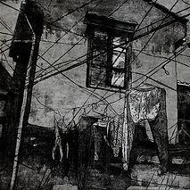 1,方小龙·版画·铜版腐蚀·《市井生活》·31cm×50cm.jpg