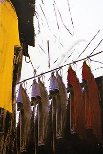 5,方小龙·版画·丝网版画·《中国式晾晒·飘啊飘》·30cm×60cm.jpg