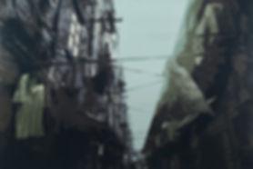 4,方小龙·版画·绝版套色木刻·《中国式晾晒·NO.3》·60cm×90cm.j