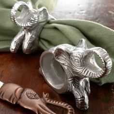Elephant Napkin Rings