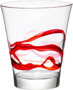 TSH_Glassware_Rocks_CeralaccaSet_Red