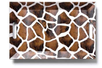 Giraffe Serving Tray - Rectangular