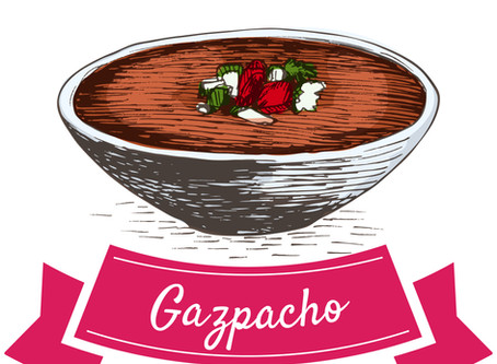 Is it summertime?  Then there must be GAZPACHO!