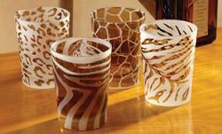 TSH_Glassware_DOF_Wildlife-Collection-Frosted_14-oz_Slant_S90587K