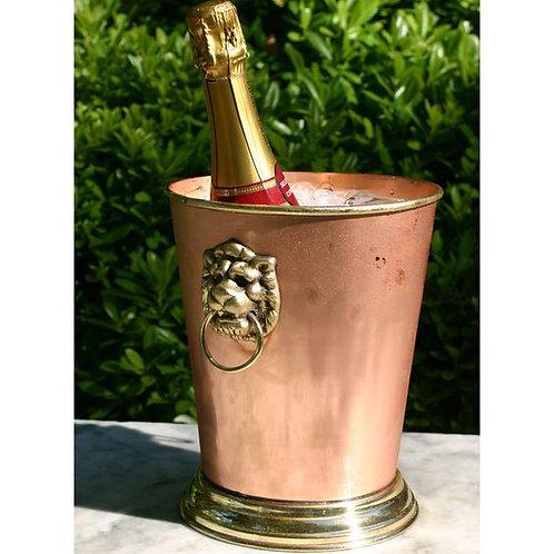 Lionshead Copper Wine Bucket