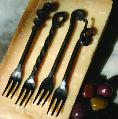 Napa Vines Cocktail Forks