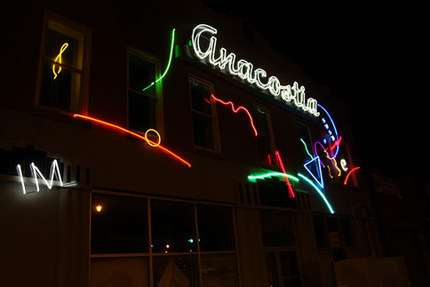 Random Neons for Anacostia, 2013