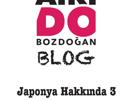 JAPONYA HAKKINDA - 3