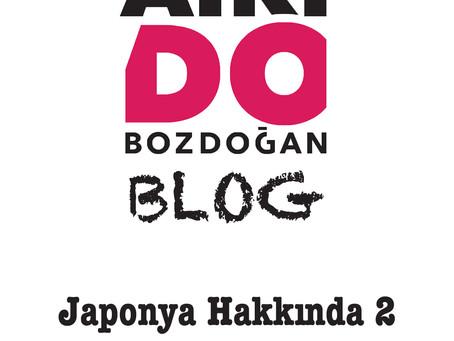 JAPONYA HAKKINDA - 2