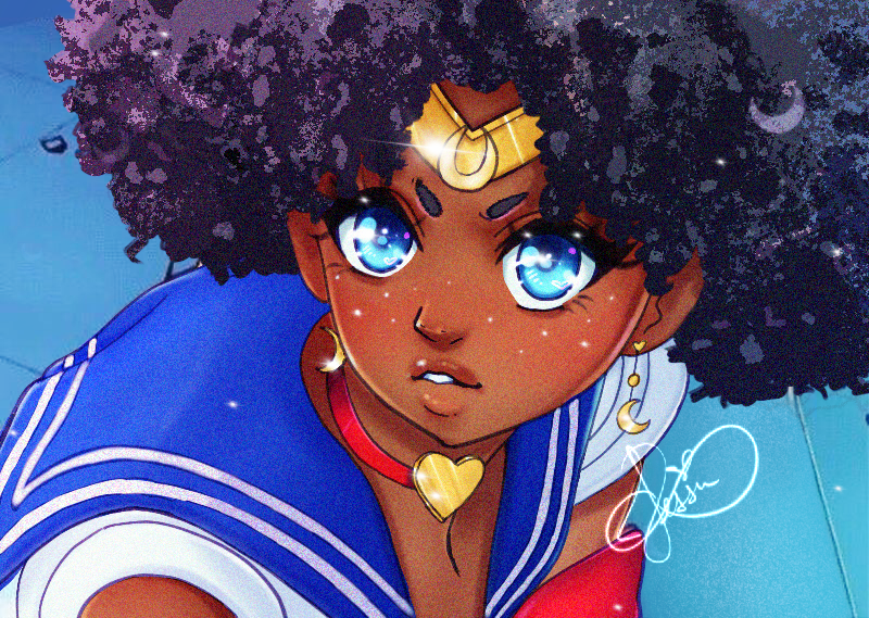 Afro Moon (Pre-Order)