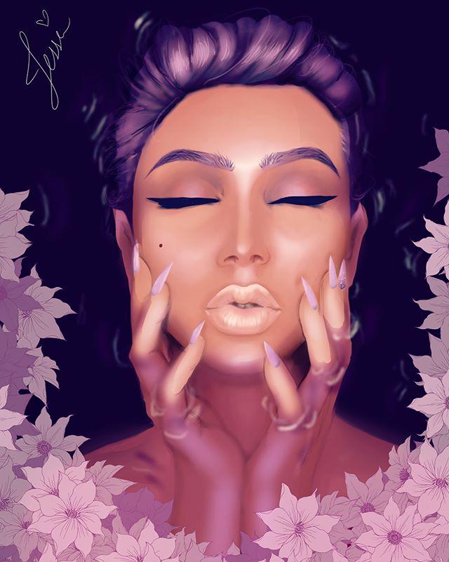 💜 Violet Euphoria 💜 _#art #artistoninstagram #artistsoninstagram #artist #artistsofinstagram #real