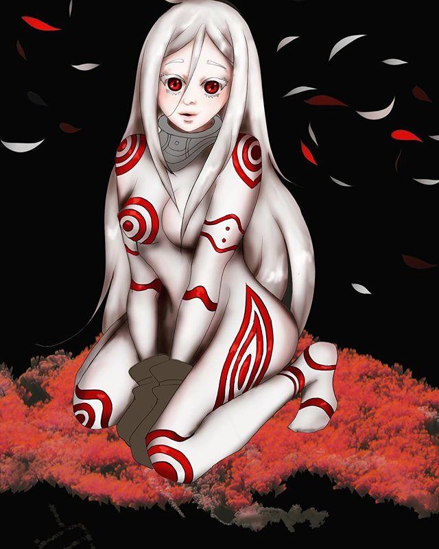 Shiro x Deadman Wonderland #computerart #digitalart #blackartist #compartkunoichi #artistsoninstagra