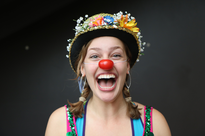 Betsy Ann, the clown