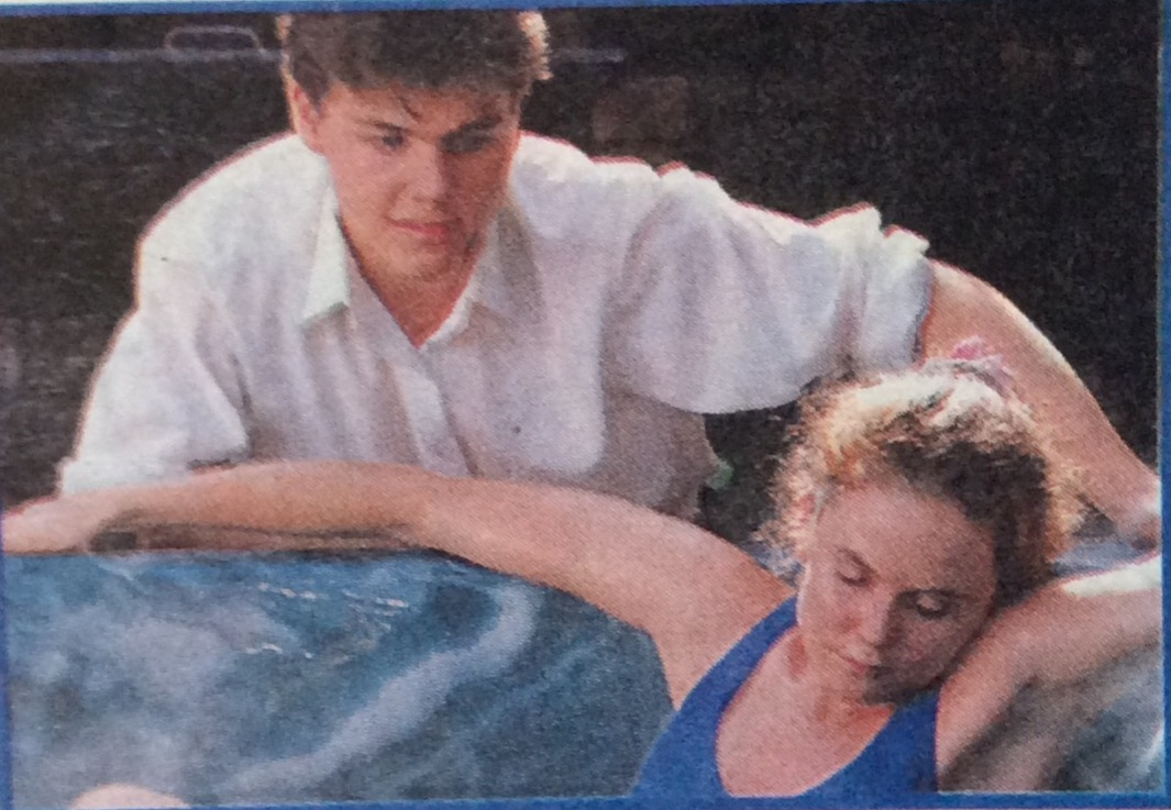 Michael tries to drown Julie