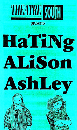 Hating Alison Ashley flyer