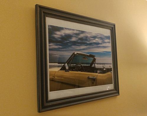 Framed 1966 Mustang photo