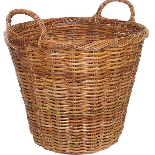 Round Rattan Basket