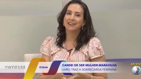 Participação no programa Manhã Total, da TV Paranaíba, afiliada da Rede Record, em 28/01/2021