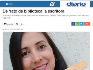 Reportagem para o jornal Diário de Uberlândia