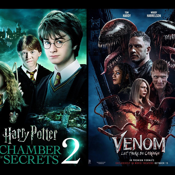 Harry Potter & The Chamber of Secrets & Venom: Let there be Carnage
