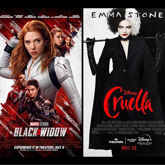 Black Widow & Cruella