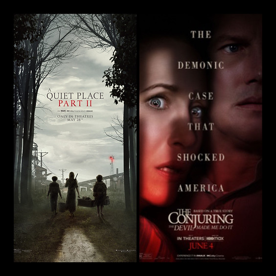 A Quiet Place 2 & The Conjuring: The Devil Made Me Do It