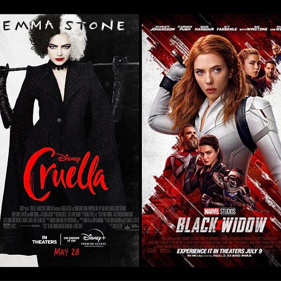 Cruella & Black Widow