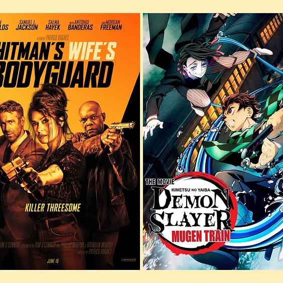 Hitman's Wife's Bodyguard & Demon Slayer The Movie: Mugen Train