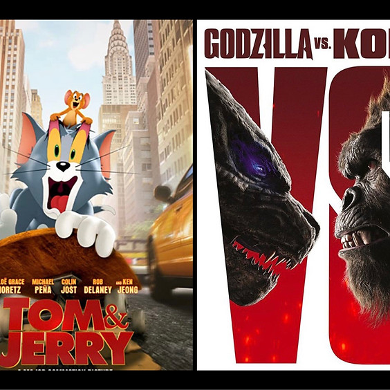 Tom & Jerry & Godzilla vs. Kong