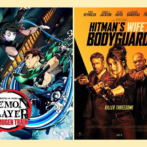 Demon Slayer The Movie: Mugen Train & Hitman's Wife's Bodyguard