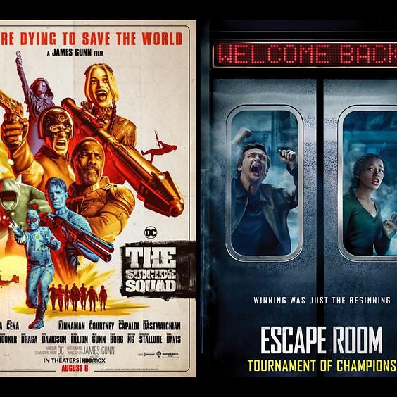 CARLOAD NIGHT! The Suicide Squad & Escape Room: Tournament of Champions