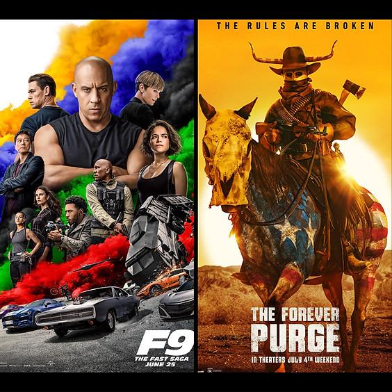 F9 The Fast Saga & The Forever Purge