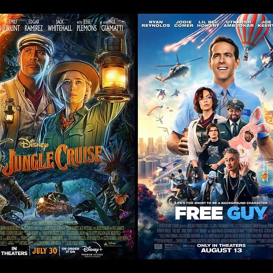 Jungle Cruise & Free Guy