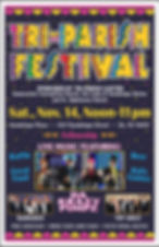 20 TriParish Cluster - Festival  Poster