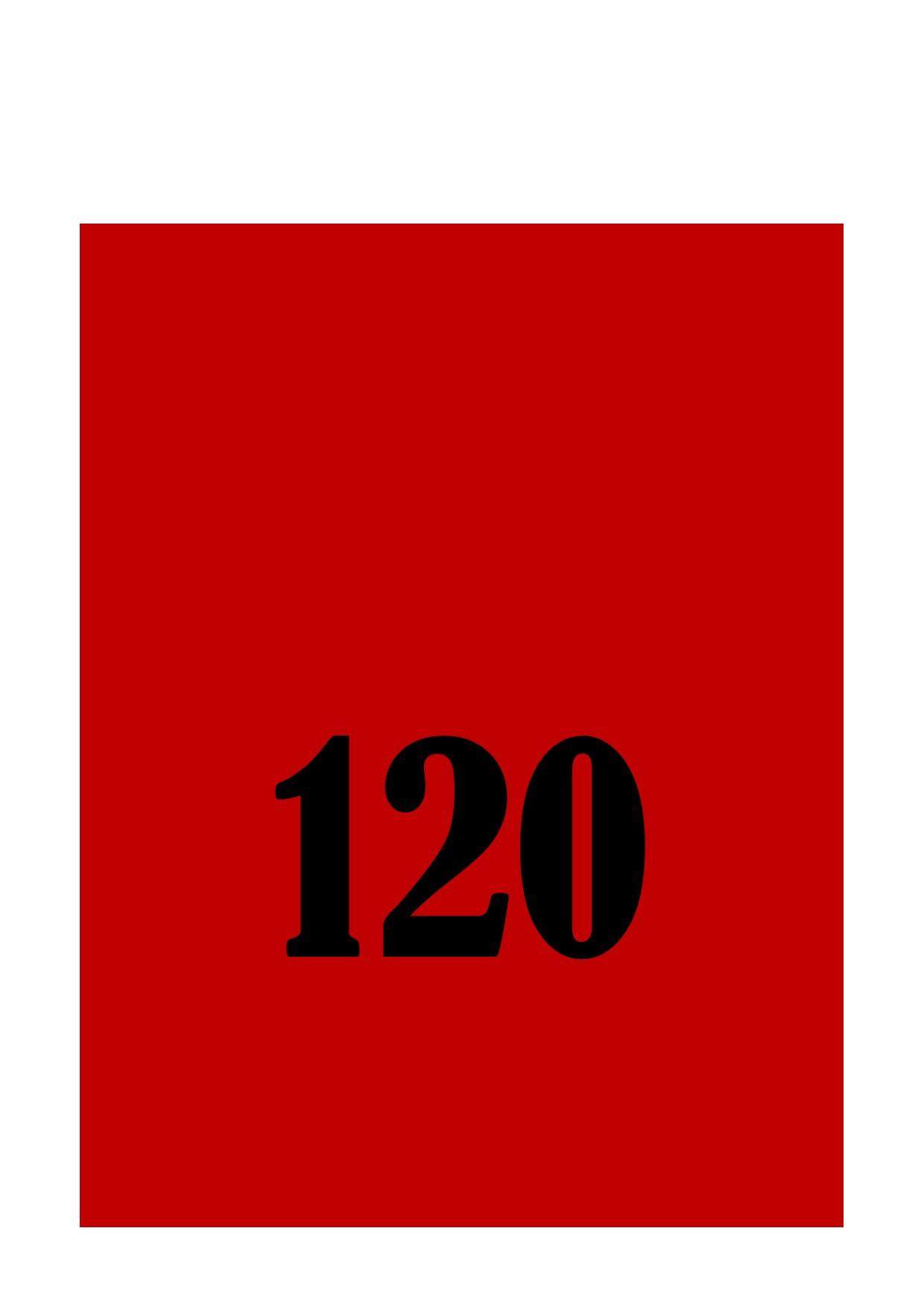 120 minutes electrolysis