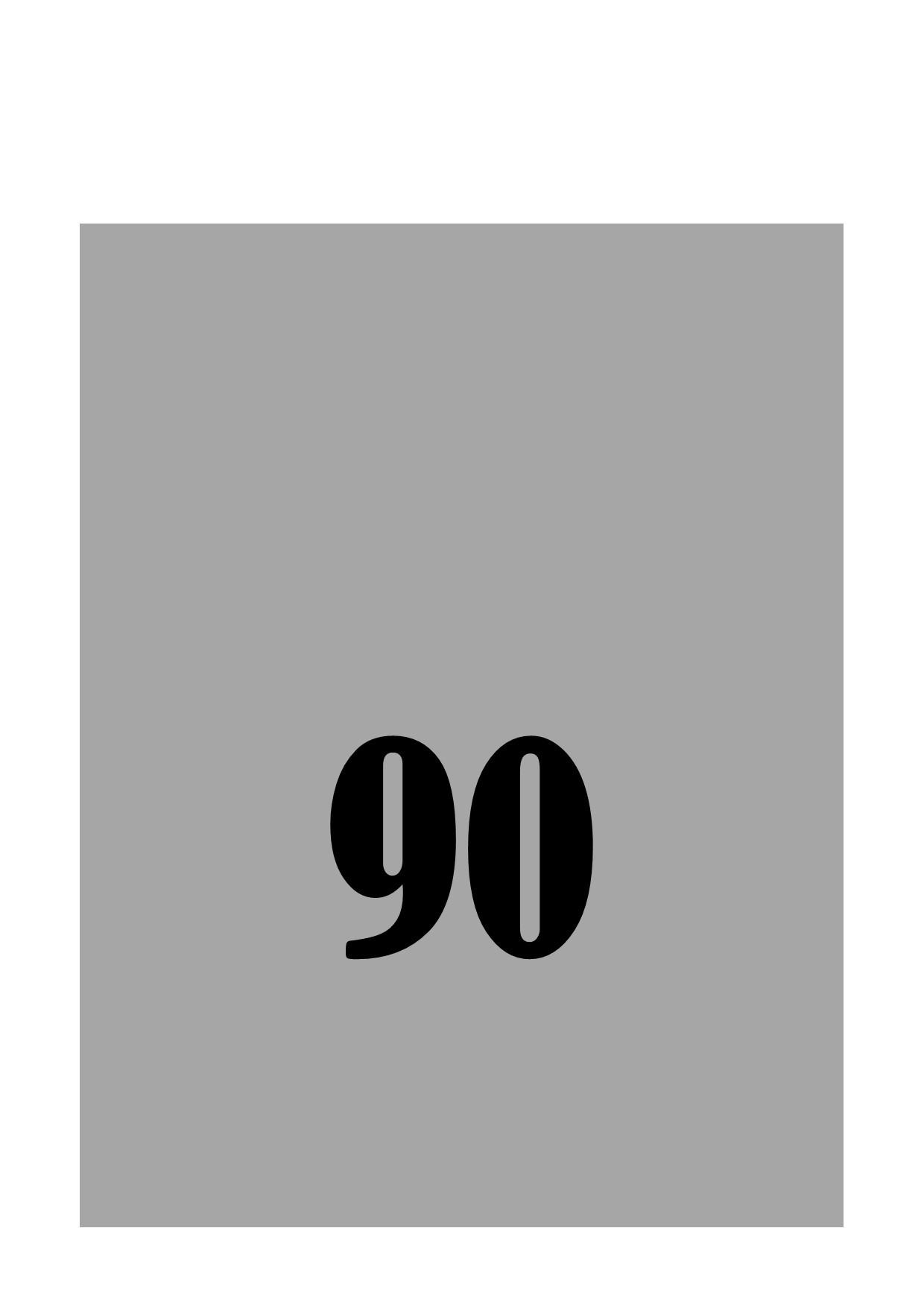 90 minutes electrolysis