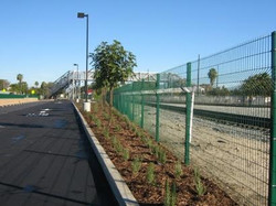 Welded Wire Mesh Fence