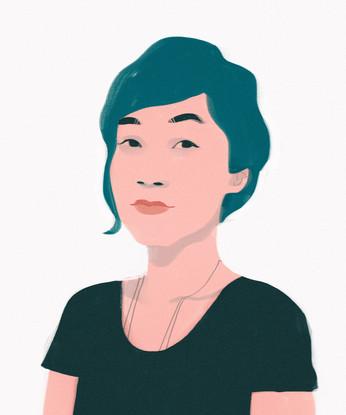 Harumi Fujita Portrait