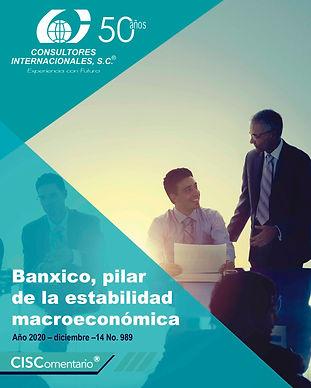 CISCO 989 Banxico pilar de la estabilida