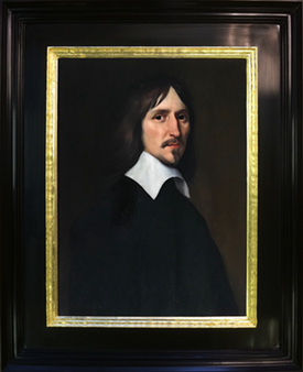 Dutch master re framed in Flemish style ripple frame