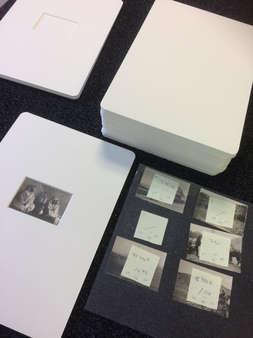 window mounted photographs