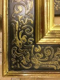 italian style renaissance gilded frame