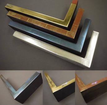 Gilded samples