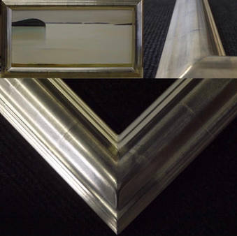 frame gilded in 6 ct gold